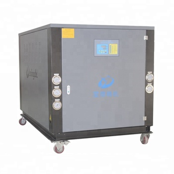 Best price water cooled water chiller for injection molding