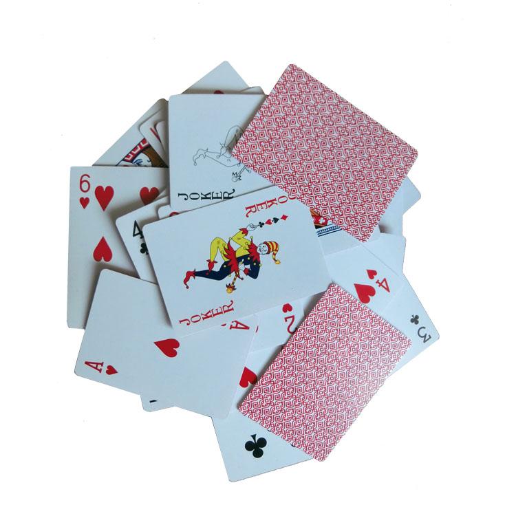 Hohe Spielkarte