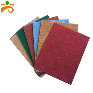 Polyester plastic car room floor carpet price per meter of plastic carpet