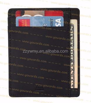 Andar Lederen Slanke Minimalistische Portemonnee Buy Andar Portemonnee,Minimalistische Portemonnee,Rfid Slanke Portemonnee Product on