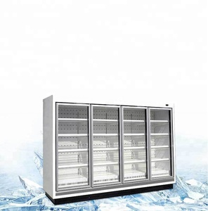 factory removable 6 doors commercial refrigerator for superamrket