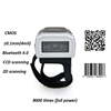 Mini Finger Ring code Reader 1D CCD Bluetooth wearable finger Barcode Scanner