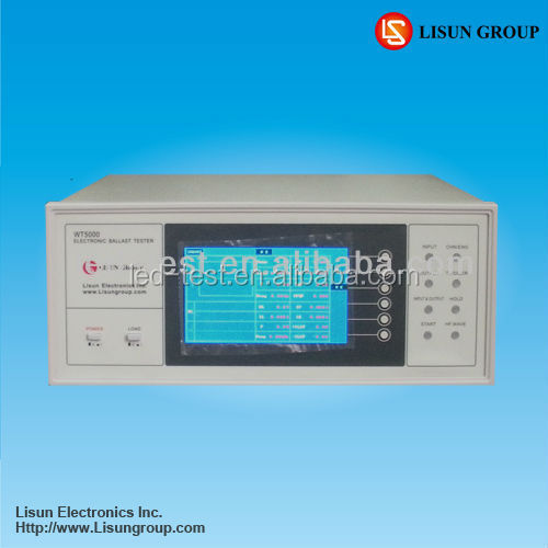 WT5000 Electronic Ballast Tester it can Communicate the PC by the RS-232