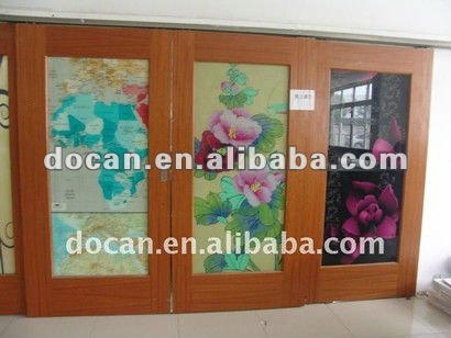 glass sticker design printing service