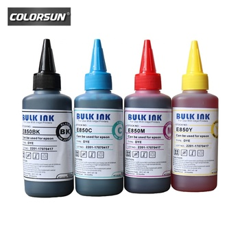 COLORSUN A+ quality Water based Ink Dye ink Bulk Ink supplier used For FA04000 for Epson L355 L211 L210L220 L335 PX300 PX435A