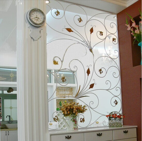 Mediterranean Style Windows Viendoraglass Com: Iron Off The Living Room European Style Fashion Exquisite