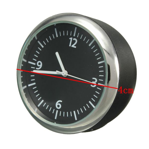 Механика автомобиль часы цифровой указатель для 12 v автоматический время белый