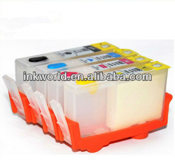 Refillable cartridges for HP655 used for HP Deskjet Printer 3525 5525 4615 4625 4525