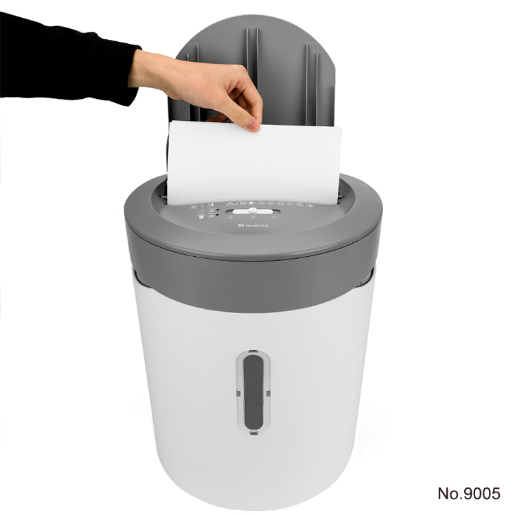50 shees of Paper Shredding Capacity 21L Paper Shredder for office with automatic feed function No.9005