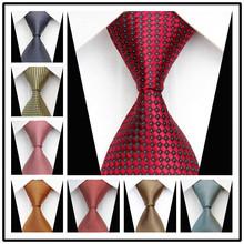 Luxusná pánska kravata s jemným vzorom z Aliexpress