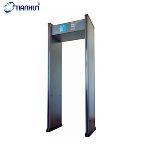 TX-200C Walk Through Gate Airport Metal Detectors Door Frame Metal Detector Walk Through Metal Detector