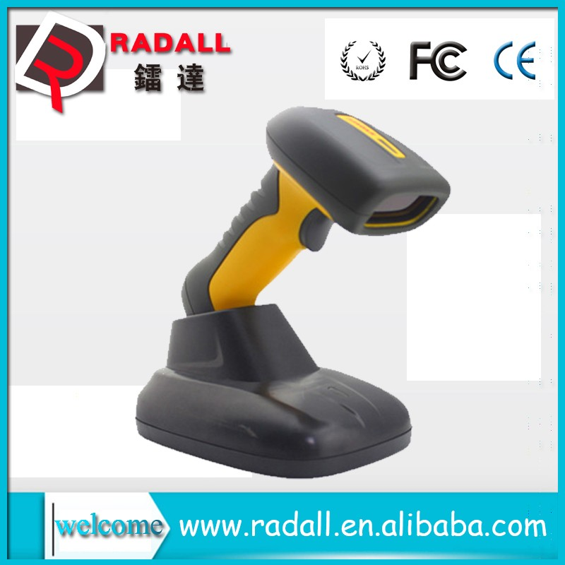 RD-6650AT wireless USB CMOS virtual Keyboard waterproof 32bit industrial 1d Laser barcode scanner