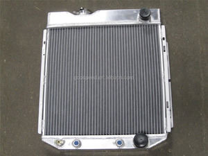 All aluminum auto cooling radiator for 1960 - 1965 Ford Small Block Conversion