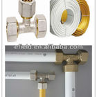 Brass Fittings Pex-al-pex Forgedbrass HOT FORGING BRASS THREAD FITTINGS 3/8'-1' BRASS COMPRESSION FITTINGS FOR PEX-AL-PEX PIPES