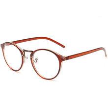 SO & EI ретро круглые женские очки оправа анти-Блю-Рей прозрачные линзы очки Защита глаз мужские Оптические очки оправа(Китай)