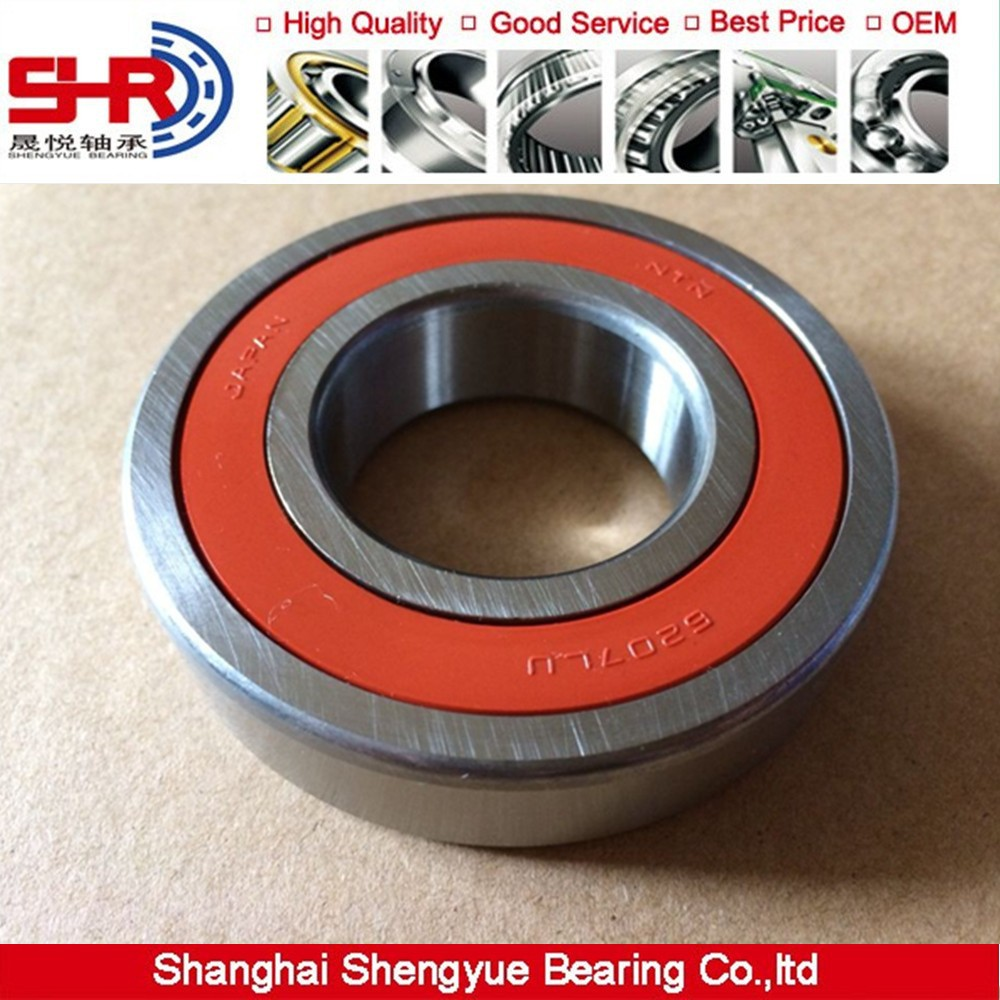 Rubber metal seal durable brand bearing NTN ball bearing 6001 ZZ LLU