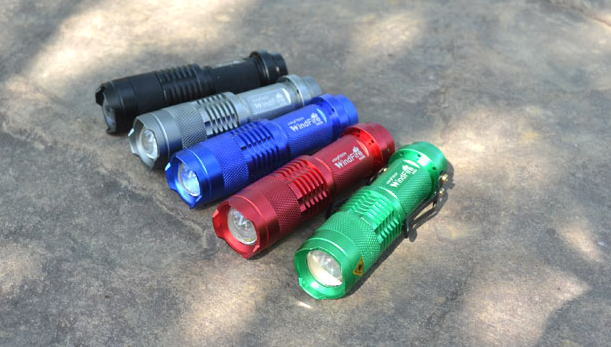Zoom Xml-t6 Led 1000 Lumens 1101 Police Type Light
