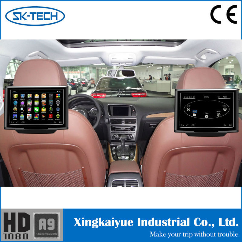 Multi Language 10 1 Inch Car Monitor Android Av Input Output Ir Function Headrest Screen Universal Replacement Lcd Tv