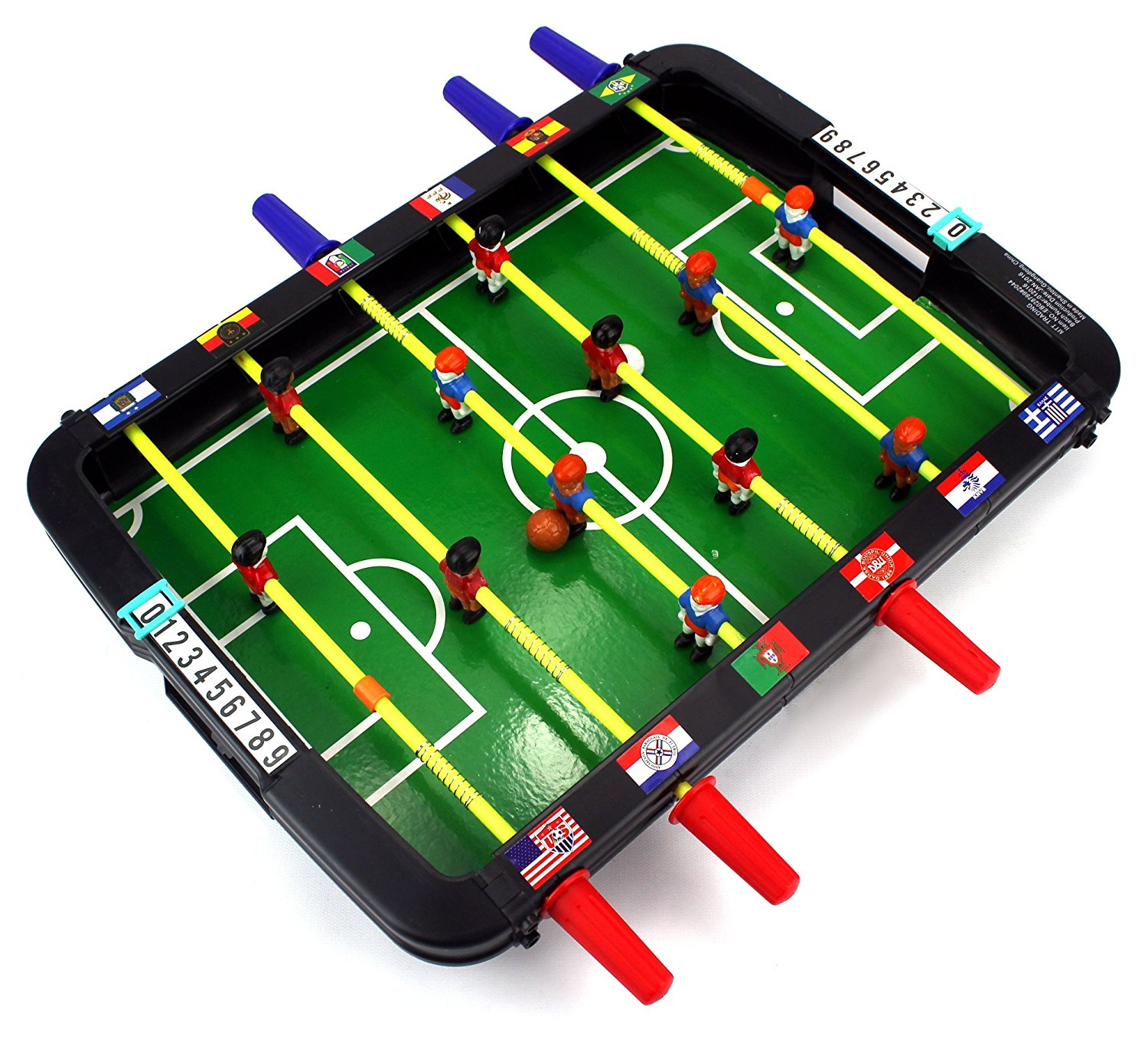 Get Quotations · Classic World Cup Soccer Foosball Novelty Table Top Arcade  Game Toy Playset