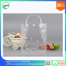 wholesale cheap personality of fashion plastic carrying handle bag