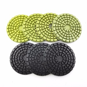 DIATOOL 4inch Thickened Diamond Resin Bond Polishing Pads Concrete floor polishing Sanding Discs