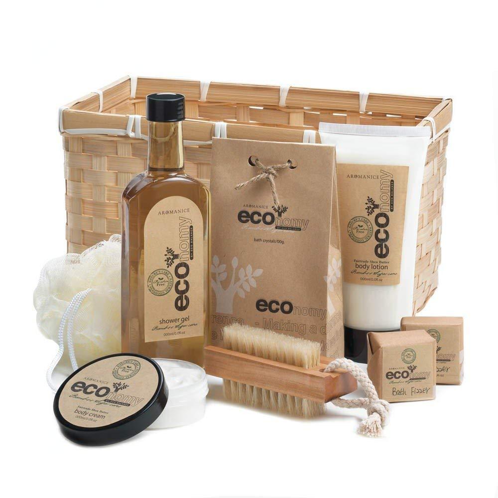Get Quotations Bath Body Gift Set Best Holiday Birthday Baskets Women Bamboo Sugarcane
