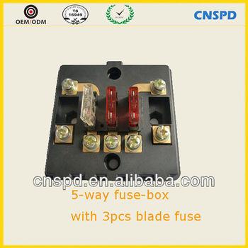 car fuse box holder auto parts 5 way fue box buy car fuse box rh alibaba com Electrical Panel Knob and Tube Wiring