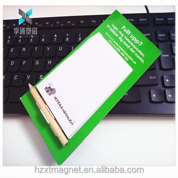 Magnetische Einkaufsliste Kühlschrankmagnet Memo Notizblock Mit ...