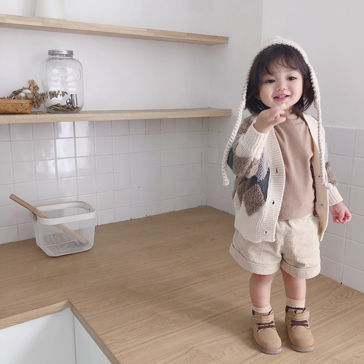 3594/Wholesale  high quality new design knitted cardigan sweaters for children