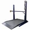 Home Parking Lift Two Post Two Level Car Parking Lift System 2700KG