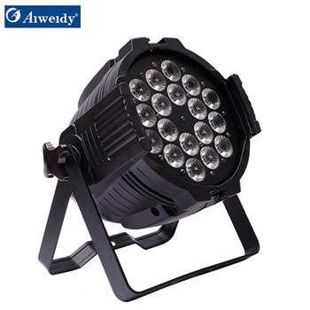 Hot promotion wash light 18x18w 6in1 flat dmx wireless battery powered par  light stand, View par light stand, AIWEIDY Product Details from Guangzhou