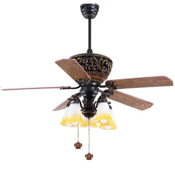 52 inch classic design ceiling fan with light by pull cord control 52 inch classic design ceiling fan with light by pull cord control for asian and middle aloadofball Image collections