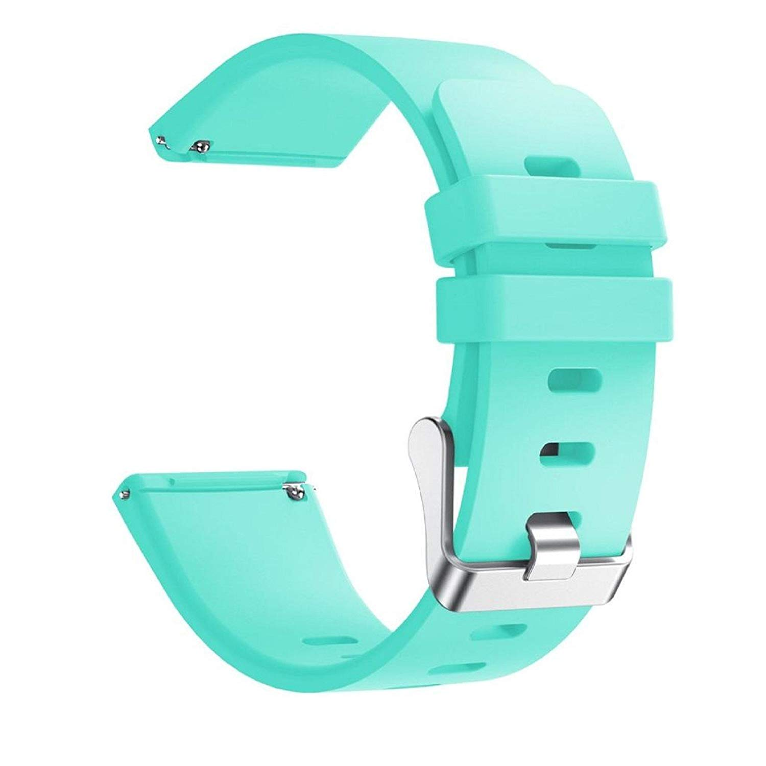 "Owill Soft Silicone Replacement Sports Classic Band Strap For Fitbit Versa Smart Watch, Fits 5.90""-8.27"" Wrist (Mint Green)"