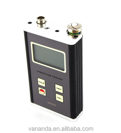 Meter VM-6370 vibration tester, Bearing Condition Detector, Machine Condition Checker,