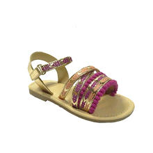 Latest Flat Pu Sandals Designs For Girls Ladies