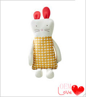 Lenny Baby Plush Toy Organic Cotton Doll Toddlers' Body Pillow 7.1 X 26.4