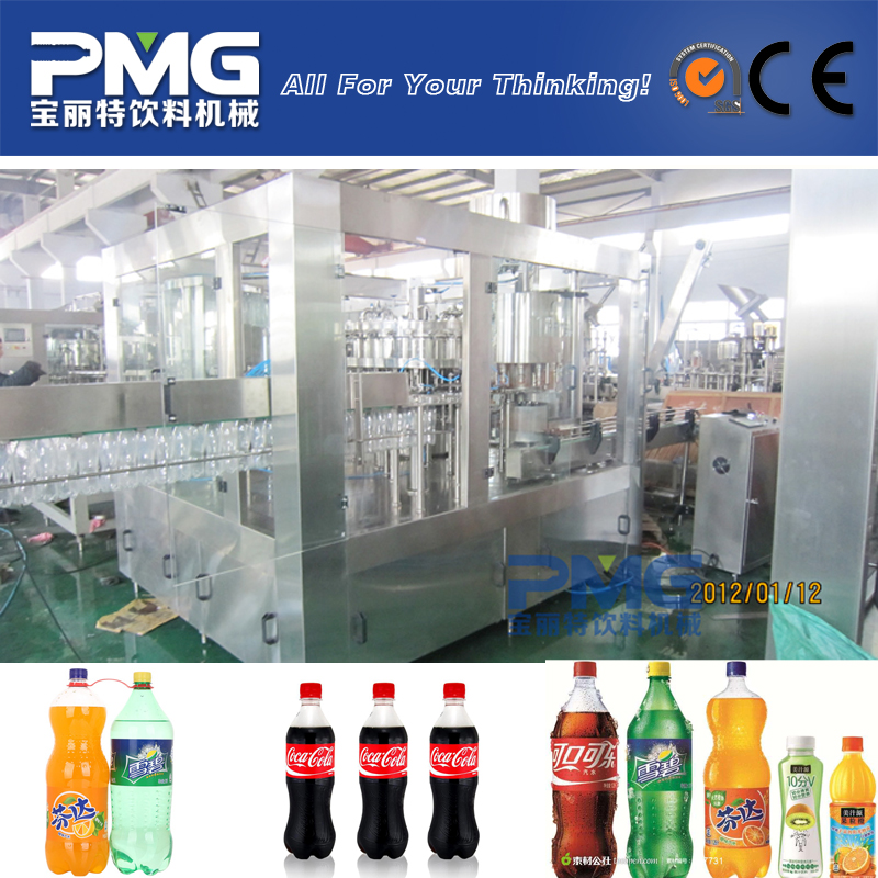 Best quality carbonated soft drink machine / CSD soda water filling machine
