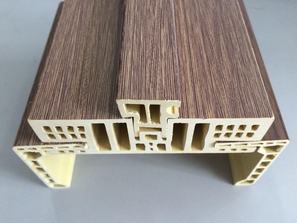 Pvc Film Lamination Type Non Deformation Wood Plastic