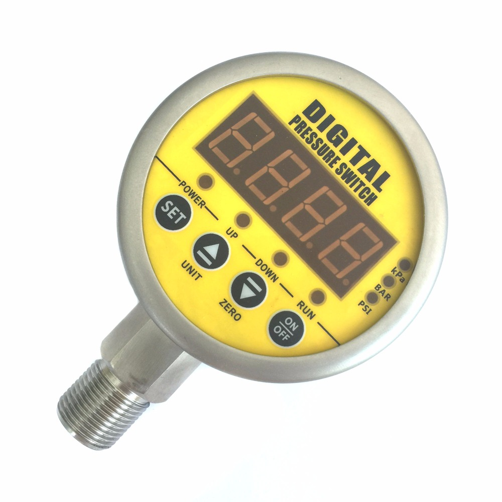 MD-800E high precision differential digital water/oil/gas pressure switch