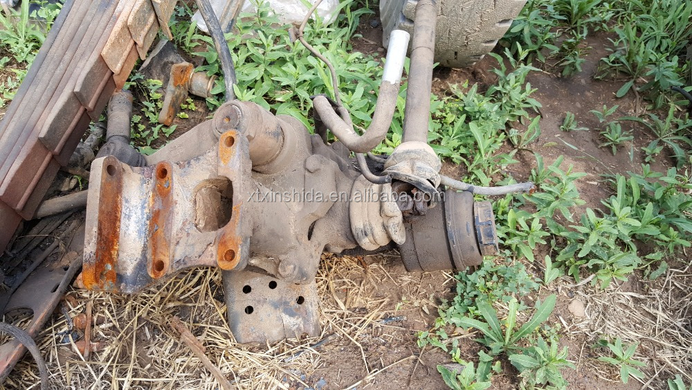used truck parts steering gear box assembly for beiben truck