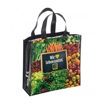 Fashion Promotional Cheap Heavy Duty Large Grocery Recycled Wholesale Non Woven Tote Bag With Custom Printed Logo