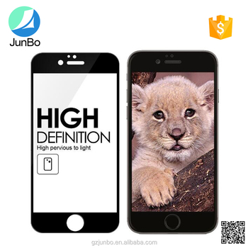 Phone accessories For iphone 7 China Suppliers 3D Tempered Glass Screen Protector for iPhone 7