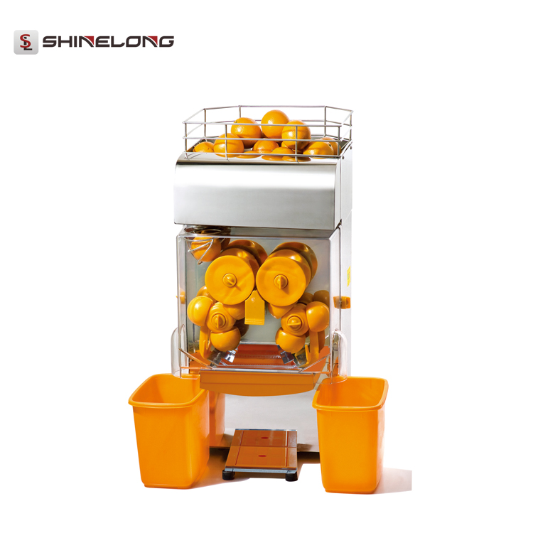 K617 Commercial Automatic Fruit Juice Extractor Juicer Making Machine