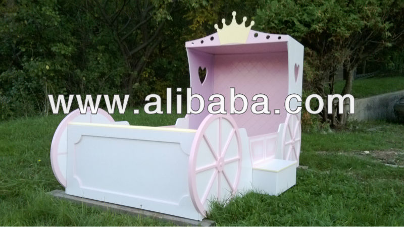 prinzessin kutsche bett kinderbett produkt id 148600261. Black Bedroom Furniture Sets. Home Design Ideas