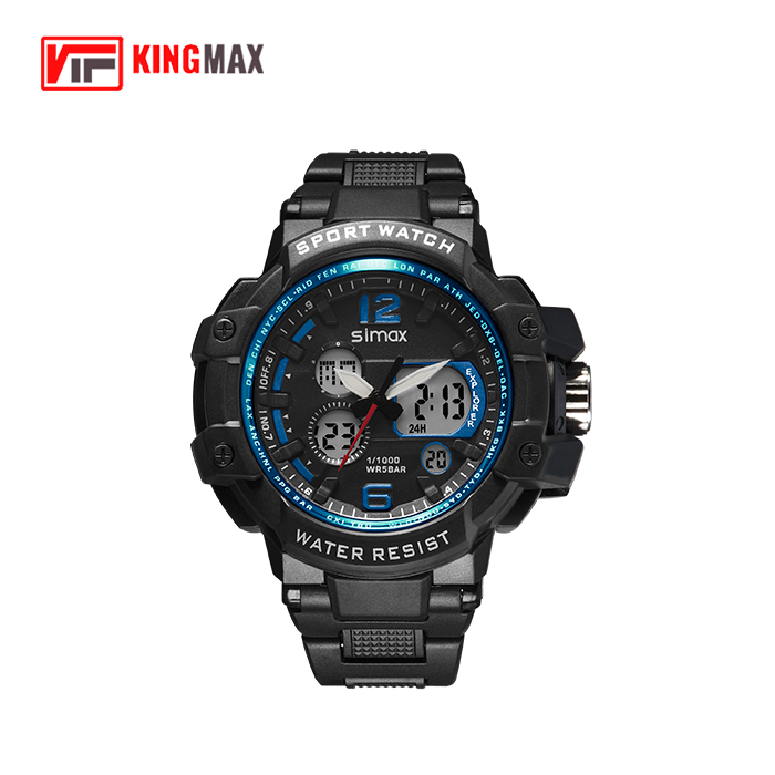 1616 Sports man watch, Analog digital sport watch Wholesale Wristwatch Men