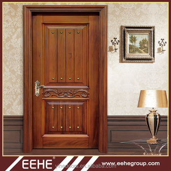 Best Italian Wood Door Design Double Solid Wood Carving Main Door