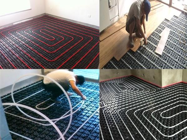 Oem pp hot water underfloor heating system buy oem for Radiant plexiglass