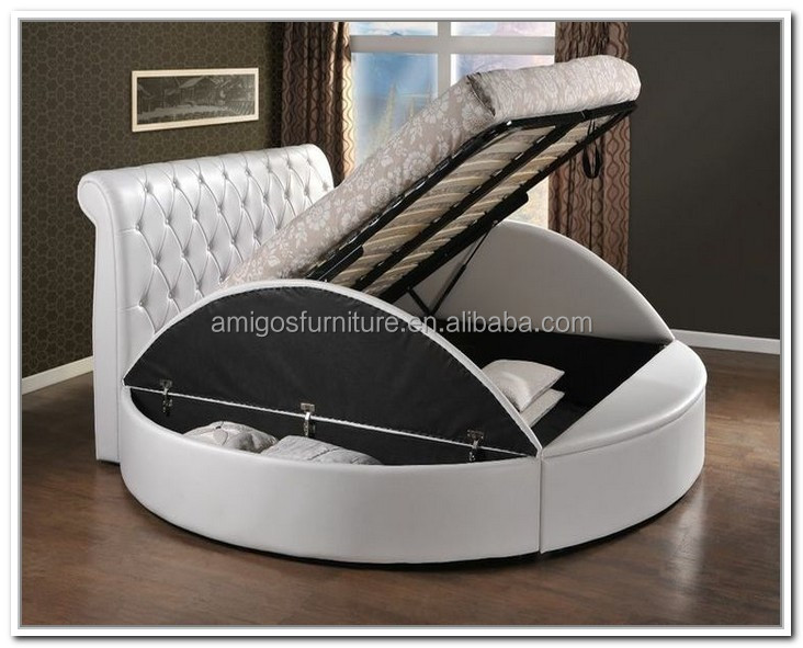 Bed With Lift Up Frame And Slats Excl