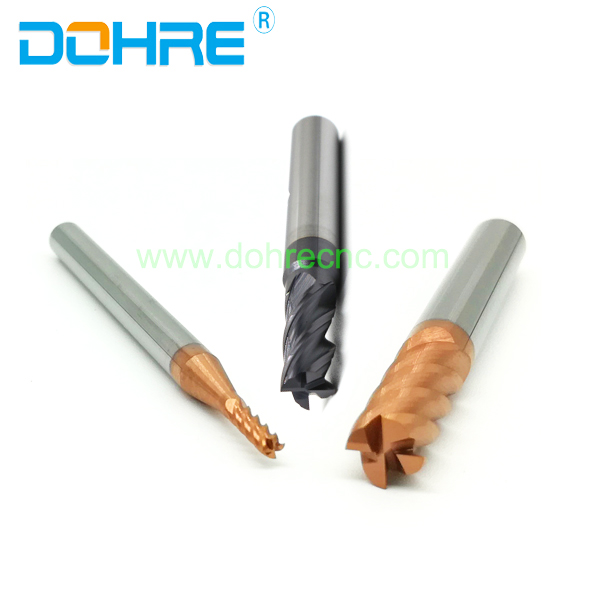 DOHRE 2 mm Solid Carbide Dovetail milling Cutters end mill