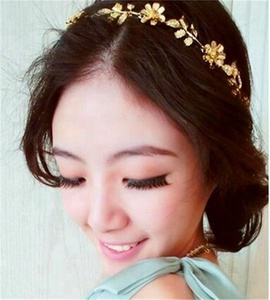 Manufactory wholesale head chain hair accessories for women/head piece jewelry/hair chain jewelry